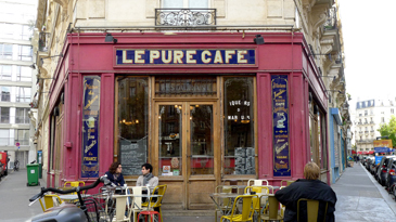 Le Pure Cafe i filmen Before Sunset.